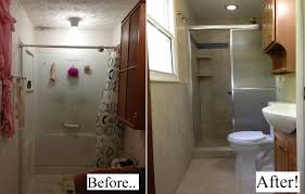bathroom remodel before and after. Fabulous Small Bathroom Remodel Before And After At Pictures