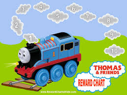 training rewards thomas the train reward chart