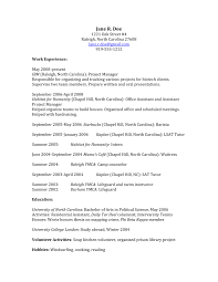 Law School Resume How To Craft A Law School Application That Gets You In Sample 3