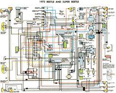 free auto wiring diagram 1971 vw beetle and super beetle byocar 74 Super Beetle Convertible Wiring Diagram find this pin and more on super beetle by figital 74 super beetle wiring diagram