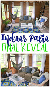 Indoor Patio indoor patio makeover final reveal the cards we drew 3255 by xevi.us
