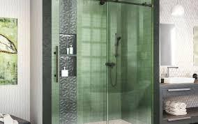 glass oil sealant nickel handle doors falls rubber bronze strip washers rubbed seal shower door replacement