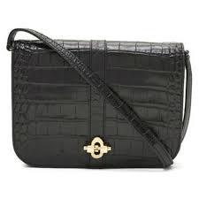 banana republic black leather bag crocodile pattern banana republic handbags patent leather black ref 86054