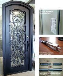 iron and glass front doors iron glass doors custom iron door rod iron glass front doors