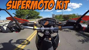 cheapest ktm 690 enduro r supermoto kit youtube
