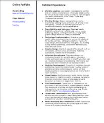 Ministry Resume Sample Ministry Resume Therpgmovie 93