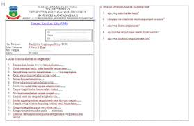 Contoh soal plh kelas xii semester. Soal Ukk Pendidikan Lingkungan Hidup Plh Kelas 1 Sd File Soal Uas