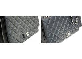 chanel cut leather repair