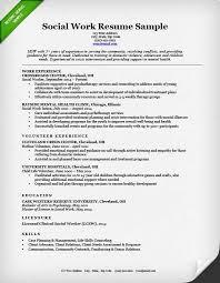 Social Work Resume Sample & Writing Guide Resume Genius