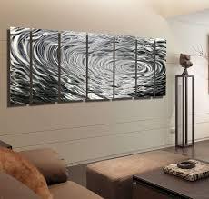 jon allen metal wall art lovely silver modern abstract sculpture ripple mirror mail organizer bathroom bulbs