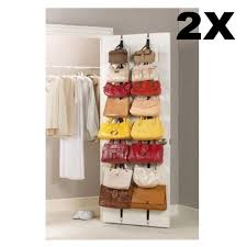 Hot Sale Hanging Hat Clothes Organizer Cap Rack Holder Over Door Straps  With 16 Hook E5M1