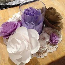 Cardstock Paper Flower Cardstock Paper Flowers 5 Steps With Pictures