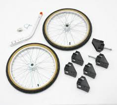 do it yourself bike trailer kit