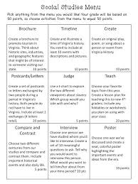 Polka Dot Lesson Plans  Social Studies Menu Neat ideas   will need to adapt and Pinterest