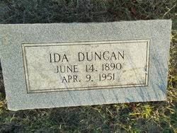Ida Patterson Duncan (1890-1951) - Find A Grave Memorial