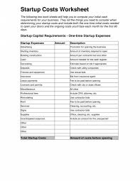 Business Start Up Costs Template 001 Business Start Up Costs Template Resume Lesson Plan Lovely How