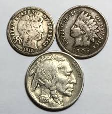 Details About Liberty Head Nickel Barber Dime Indian Head