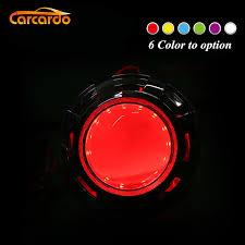 <b>Carcardo</b> 2PCS <b>Car</b> Headlights DIY Devil Eyes <b>LED</b> Halo Rings Kit ...