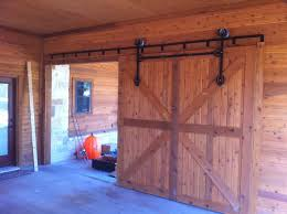 image of barn door track system hardware