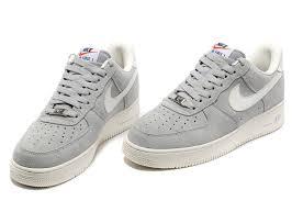 nike air force 1 basse. Nike Gray Air Force 1 Man Anti-Fur Basse