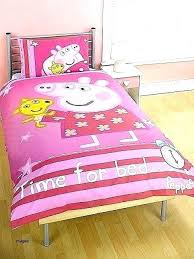 peppa pig toddler bed pig toddler bedding set sets with curtains duvet and picture concept pig