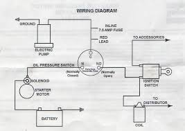 wiring an electric fuel pump to a carbureted car oil pressure thanks to all who can help us out