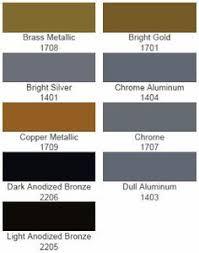 Matthews Paint Metallics Color Chart