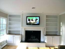 how to mount tv on fireplace mounting above fireplace custom built cabinets and wall mount over how to mount tv on fireplace