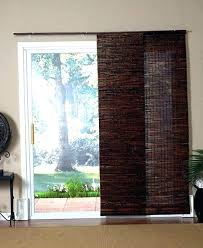 sliding glass door panel track blinds home depot surprising l and stick floor patio doors with
