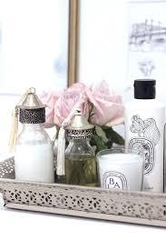 bathroom vanity tray. Various White Bathroom Tray How To Style A Blush Vanity Trays T