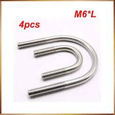 Ochoos 4pcs/<b>lot</b> Stainless Steel clamp U Bolt U-Bolts M622/27/34/42 ...