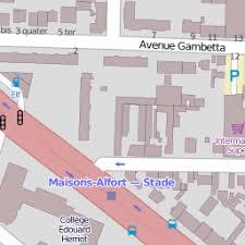École maternelle publique Édouard herriot sur une carte 94700 maisons alfort