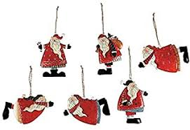 Santa Claus Tree Ornaments - Amazon.com