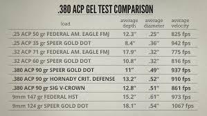 9mm Chart 380 Acp The Biggest Little Caliber Lucky Gunner Lounge