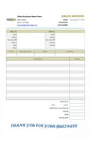 Sales Receipt Template Word 2007