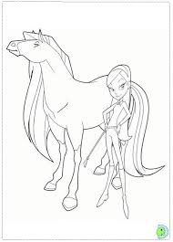 Small Picture Horseland Coloring page DinoKidsorg