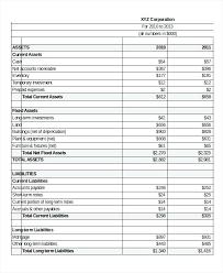 Pro 7 Pro Income Statement Template 7 Pro Financial