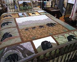 630 best BEAR`S PAW/BEAR QUILTS images on Pinterest | Bear claws ... & BEAR COUNTRY QUILT Adamdwight.com