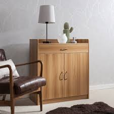 Sideboard \u2013 Home Office Cupboard Shoe Cabinet Unit Chest With Drawer And  Shelves (Beech O