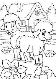 Kleurplaat Pasen Pasen Voordeur Ideeën Kleurplaten Disney