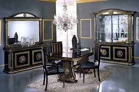 Image is loading VERSACE-DESIGN-ITALIAN-LIVING-OR-DINING-ROOM-FURNITURE