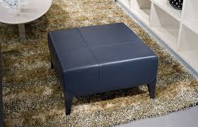 navy leather large beyond furniture ottoman