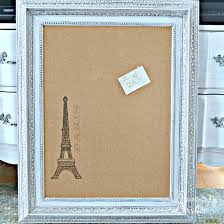 diy cork boards. DIY Cork Board - Eiffel Tower Reader Featured Project Diy Boards R