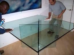 custom glass table custom all glass table custom glass table tops toronto