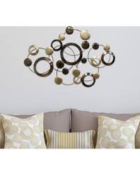 >don t miss this bargain stratton home decor circles metal wall art  stratton home decor circles metal wall art multicolor