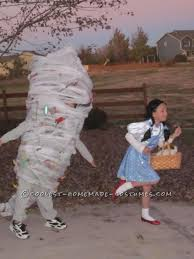 Its A Kid Dressed Up As A Tornado Chasing A Kid Dressed Up As Dorothy