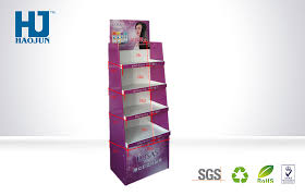 Hs Code For Display Stand Skin Care Products Cardboard Shelf Display Unit Cardboard 39