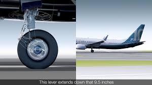 Boeing Landing Gear Design Video Boeing Details 737 Max 10 Landing Gear Design News