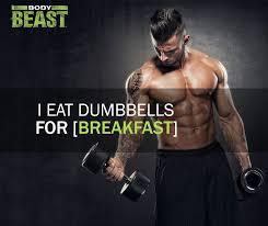 Eat Dumbbells EatDumbbells Sagi BodyBeast TeamBeachbody Magnificent Sagi Kalev Quotes