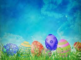 Easter Egg Hunt Blank